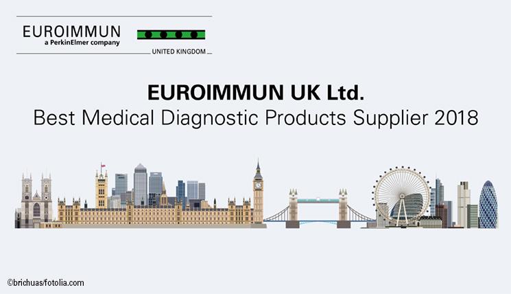 EUROIMMUN UK gewinnt bei den Greater London Enterprise Awards.